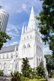 St Andrew Kathedraal, Singapore royalty-vrije stock afbeeldingen