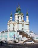 ST. Andrew Kerk, Kiev Royalty-vrije Stock Foto's