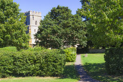 St. Andrew parish church in Great Linford, Buckinghamshire Stock Image