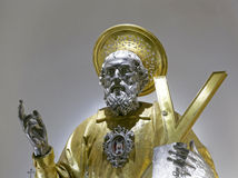 St Andrew reliquary Stock Image