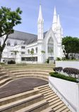 St Andrew's Cathedral. Singapore, built in 1836 Royalty Free Stock Image