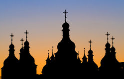 St. Andrew's Cathedral. In Kiev tha capital of Ukraine Royalty Free Stock Images