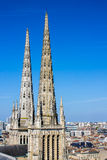 St. Andrew's Cathedral, Bordeaux, France Stock Photography