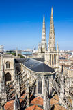 St. Andrew's Cathedral, Bordeaux, France Royalty Free Stock Photos