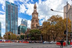 Free St Andrew`s Cathedral Is A Diverse Christian Church With The Highest Standards Of Bible Teaching And Music,Sydney Australia,13/4/ Royalty Free Stock Photo - 180375695