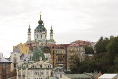 St. Andrew's Cathedral in Kiev Royalty Free Stock Image