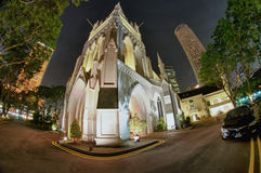 St. Andrew's Cathedral, Singapore Royalty Free Stock Images