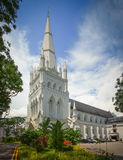 St Andrew S Cathedral, Singapore Royalty Free Stock Photos