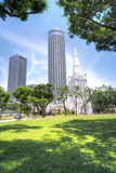 St Andrew's Cathedral, Singapore Royalty Free Stock Images