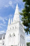 St Andrew's Cathedral, Singapore Stock Photos