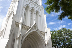 St Andrew`s Cathedral, Singapore Royalty Free Stock Images