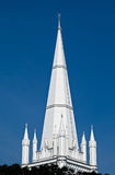 St Andrew's Cathedral steeple Royalty Free Stock Image