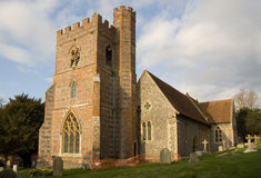St Andrew's Church, Bradfield, Berkshire Royalty Free Stock Photos