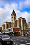 St Andrews Church in Cologne stock photo