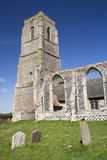 St Andrew's Church, Covehithe, Suffolk, England Royalty Free Stock Photo