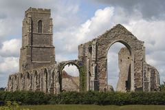St Andrew's Church, Covehithe, Suffolk, England Royalty Free Stock Images