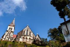 St. Andrew's Church of Darjeeling Stock Photo
