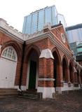 St Andrews Church in Hong Kong stock image