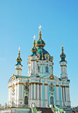 St. Andrew's church in Kiev Royalty Free Stock Photos
