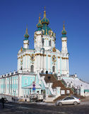 ST. Andrew's Church, Kiev Royalty Free Stock Photos