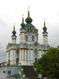 St. Andrew's Church in Kiev Stock Photography