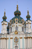 St Andrew's Church in Kiev. Royalty Free Stock Photos