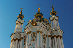 St Andrew's Church, Kiev Royalty Free Stock Images