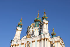 St Andrews Church, Kiev Royalty Free Stock Images
