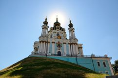 St. Andrew's Church, Kiev Stock Images