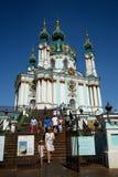 St. Andrew's Church, Kiev Stock Image