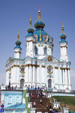 St. Andrew's Church in Kiev. Ukraine Stock Photography
