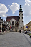 St. Andrew s Church in Krakow Stock Image