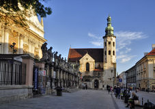 St. Andrew s Church in Krakow Royalty Free Stock Images