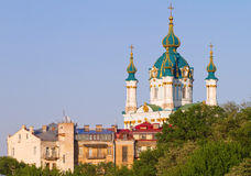 St. Andrew's church in Kyiv Stock Photo