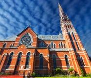 St Andrew ` s Kathedraal Roman Catholic Church Exterior Victoria BC royalty-vrije stock foto