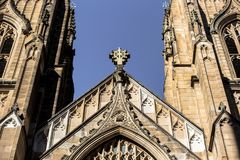 St- Andrew` s Kathedrale ist die Kathedralenkirche der anglikanischen Diözese von Sydney lizenzfreie stockfotos