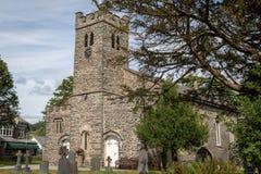 St Andrew ' s-Kirche in Coniston Die Kirche war errichtetes im Jahre 1819 lizenzfreies stockbild
