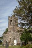 St Andrew ' s-Kirche in Coniston Die Kirche war errichtetes im Jahre 1819 stockbilder