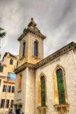 St- Andrew` s Kirche in Gibraltar stockfoto