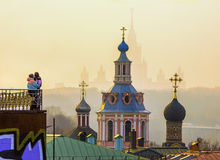 St. Andrew's Monastery (Moscow) Royalty Free Stock Photography