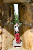 ST ANDREW, SCHOTTLAND, Großbritannien, am 17. September 2016 Pfeifer, der das Ba spielt Lizenzfreies Stockbild