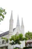 St- Andrewkirche in Singapur Stockfoto