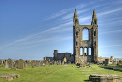 St Andrews Abbey Stock Photography