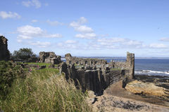 St. Andrews castle Stock Images