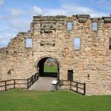 St Andrews castle. Ruin of St Andrews castle Fife Scotland stock photos
