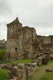 St Andrews Castle Ruins Medieval Landmark. Pickolaflöjt fotografering för bildbyråer