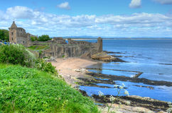 St. Andrews Castle royalty free stock photos