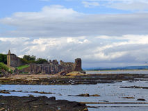 St Andrews Castle, Scotland Stock Photography