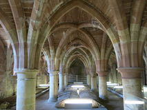 St Andrews Cathedral Crypt Stock Image