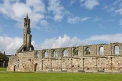 St Andrews Cathedral en Saint Andrews, Escocia fotos de archivo